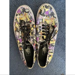 Disney Villains Vans Women's 9.5